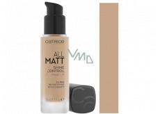 Catrice All Matt Shine Control make-up 027 Neutral Amber Beige 30 ml