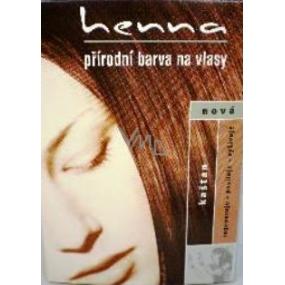 Henna Přírodní barva na vlasy Kaštan 117 prášková 33 g - VMD ... 2895f704a25
