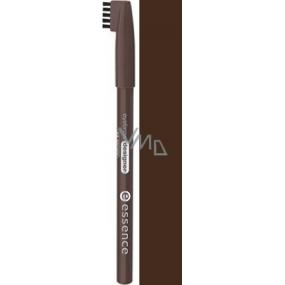 Essence Eyebrow Designer tužka na obočí 02 Dark Brown 1 g