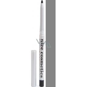 Diva & Nice Vysouvací konturovací tužka na oči s ořezávátkem 04 Šedá 1,2 g