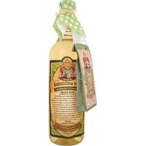 Bohemia Babiččino macerační dárkové víno bílé - lipový květ 750 ml