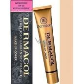 Dermacol Cover make-up 207 voděodolný pro jasnou a sjednocenou pleť 30 g