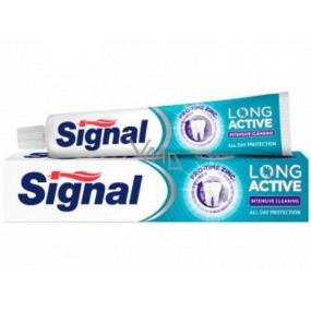 Signal Long Active Intensive Cleaning zubní pasta s antibakteriálními účinky 75 ml