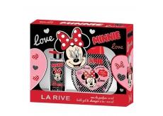 La Rive Disney Minnie Mouse parfémovaná voda 90 ml + pěna do koupele 250 ml, kosmetická sada