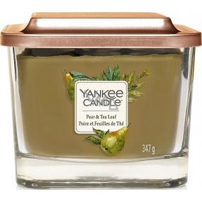 Yankee Candle Pear & Tea Leaf - Hruška a čajové lístky sojová vonná svíčka Elevation střední sklo 3 knoty 347 g