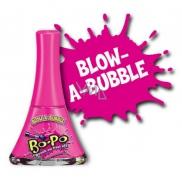 Bo-Po Lak na nehty slupovací růžový s vůní Blow-A-Bubble pro děti 5,5 ml