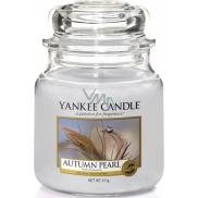 Yankee Candle Autumn Pearl - Podzimní perla vonná svíčka Classic střední sklo 411 g