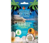 Marion Tropický ostrov Tahiti Paradise textilní pleťová maska hydratační 1 kus