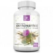 Allnature Ostropestřec bylinný extrakt vnitřní čistič, má vliv na správnou funkci jater a všech vnitřních orgánů doplněk stravy 60 kapslí