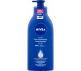 Nivea Body Milk Rich výživné tělové mléko pro velmi suchou pokožku s pumpičkou 625 ml