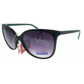 Nae New Age Sluneční brýle černozelené 023886