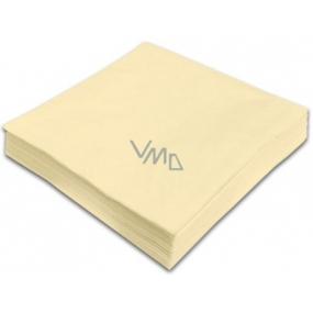 Gastro Papírové ubrousky barevné béžové 2 vrstvé 33 x 33 cm 50 kusů