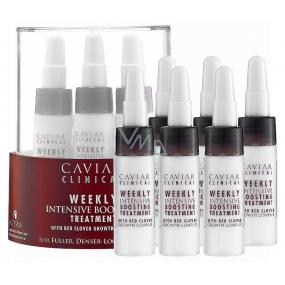 Alterna Caviar Clinical Weekly Intensive Boosting Treatment výživné ampulky zabraňující padání vlasů 6 x 6,7 ml
