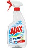 Ajax Optimal 7 Super Effect Okna čisticí prostředek s alkoholem rozprašovač 500 ml