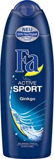 Fa Men Active Sport Ginkgo 250 ml men's shower gel VMD