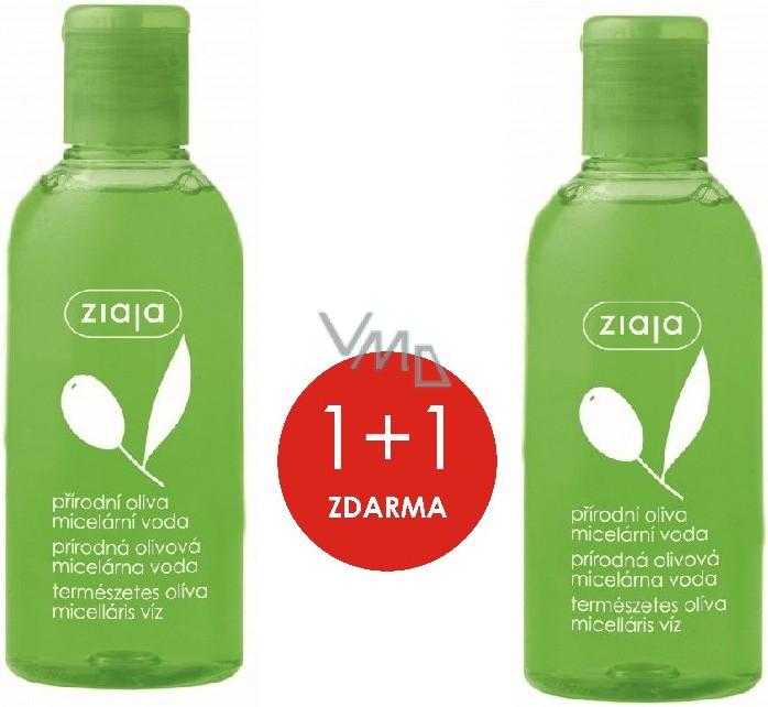 Ziaja Oliva micelární voda pro suchou a normální pokožku 200 ml + Ziaja Oliva micelární voda pro suchou a normální pokožku 200 ml, duopack