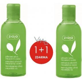 Ziaja Oliva micelární voda pro suchou a normální pokožku 2 x 200 ml, duopack