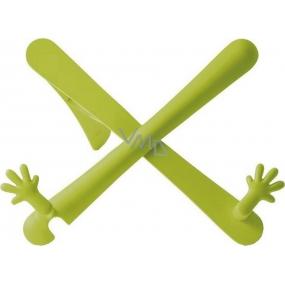 If The Hands Stand Držák na knihy/tablety Zelený 25 x 45 x 210 mm