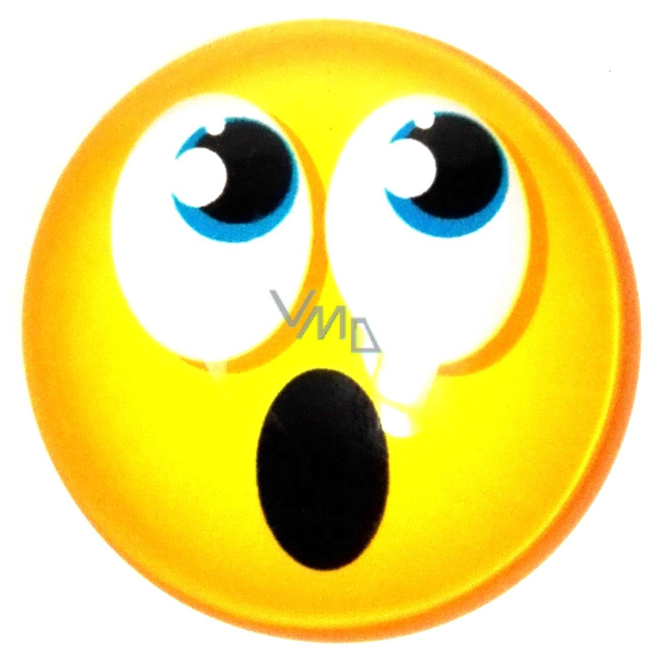 Nekupto Magnet Emoji Smajlík kolečko žluté 4 cm - VMD drogerie 3f92a219792