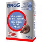 Bros Měkká návnada na myši, krysy a potkany 150 g