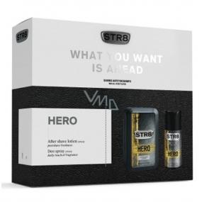 Str8 Hero voda po holení 100 ml + deodorant sprej 150 ml, kosmetická sada