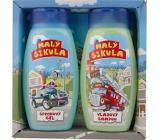 Bohemia Gifts & Cosmetics Kids Malý šikula sprchový gel 250 ml + šampon na vlasy 250 ml, kosmetická sada