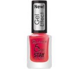 Dermacol 5 Day Stay Gel Effect dlouhotrvající lak na nehty s gelovým efektem 28 Moulin Rouge 12 ml