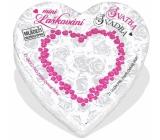 Albi Mini Laškování - Svatba malé srdce plné inspirací do partnerského života, obsahuje 21 svitků s inspirací, pro 2 hráče, doporučený věk od 18+