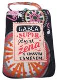 Albi Skládací taška na zip do kabelky se jménem Gabča 42 x 41 x 11 cm