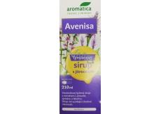 Aromatica Avenisa Tymiánový bylinný sirup s jitrocelem podporuje normální funkci dýchacího ústrojí, pomáhá zefektivnit vykašlávání, pro děti od 10 let 210 ml