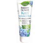 Bione Cosmetics Kozí syrovátka balzám na ruce pro citlivou pokožku 205 ml
