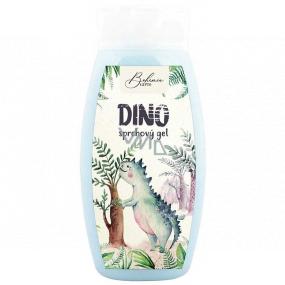 Bohemia Gifts Kids Dino sprchový gel pro děti modrý 250 ml