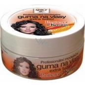 Bione Cosmetics Keratin & Panthenol Profesionální modelační guma na vlasy extra tužící 150 ml