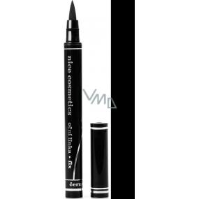 Diva & Nice Oční linky ve fixu černá 1,2 ml