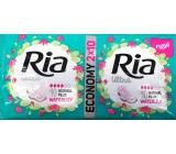 Ria Ultra Normal Plus Waterlily hygienické vložky 2 x 10 kusů