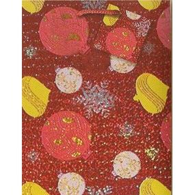 Nekupto Dárková papírová taška střední 23 x 18 x 10 cm Vánoční 067 30 GM