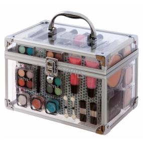 Technic Essential transparent kosmetický kufr