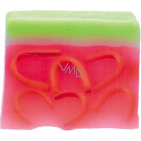Bomb Cosmetics Meloun Přírodní glycerinové mýdlo 100 g