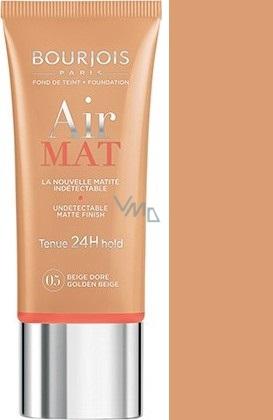 Bourjois Air Mat Foundation zmatňující make-up 05 Golden Beige 30 ml