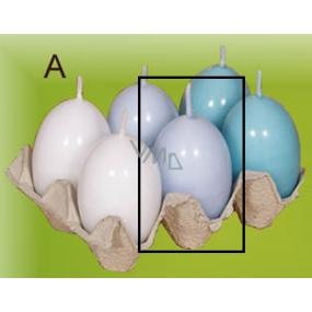 Lima Vajíčko s vůní svíčka světle modré 40 x 60 mm 1 kus