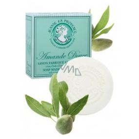 Jeanne en Provence Amande Douce Sladké mandle tuhé toaletní mýdlo 100 g