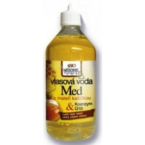 Bione Cosmetics Med a Q10 vlasová voda pro vyšší lesk vlasů a velký objem účesu 215 ml