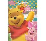 Ditipo Dárková papírová taška 26,4 x 12 x 32,4 cm Disney Medvíde Pú, What a Fun Day!