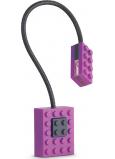 If Block Light Lego Lampička na knihu Fialová 32 x 20 x 220 mm