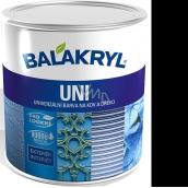 Balakryl Uni Mat 0199 Černý univerzální barva na kov a dřevo 700 g