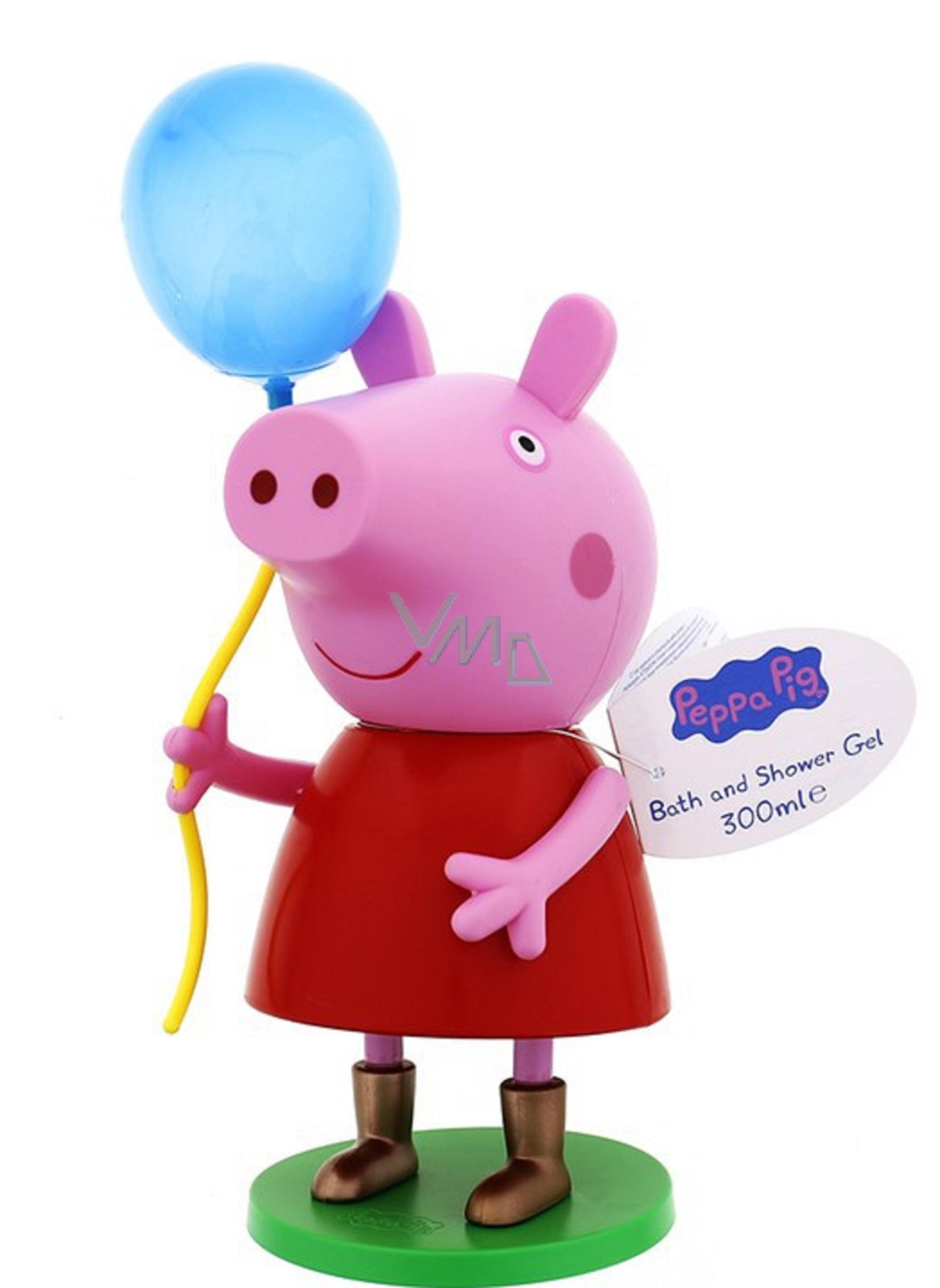 Peppa Pig 3d Figurka Balloon Shower Gel 300 Ml Ext 8 2016