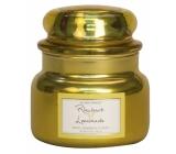 Village Candle Rebarborová citronáda - Rhubarb Lemonade vonná svíčka ve skle 2 knoty 262 g