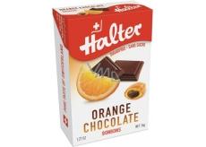 Halter Orange Chocolate - Pomeranč s čokoládou bonbony bez cukru, s přírodním sladidlem Isomalt, vhodné i pro diabetiky 36 g