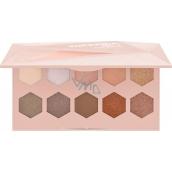 Catrice Superbia Vol. 1 Warm Copper Eyeshadow Edition paleta očních stínů 010 Bronze Upon a Dream 15 g