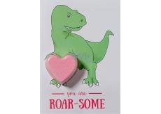 Bomb Cosmetics Jsi můj T-rex - You Are Roarsome Šumivé přání s balistikem 40 g